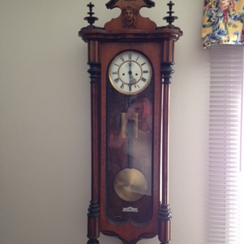 1800's wall clock - Clocks