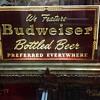 1940's Budweiser sign