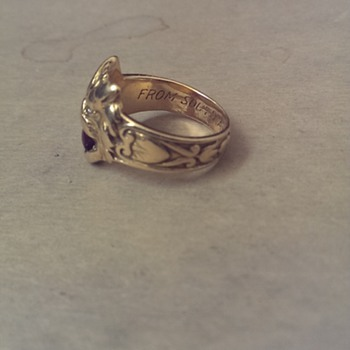 114 year old ring from South Africa