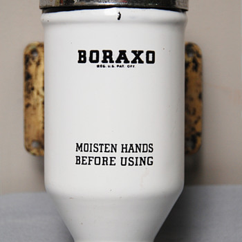 Boraxo Powdered Soap Dispenser- Junk Treasures Collection - Mid-Century Modern
