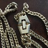 Double layered gold chain
