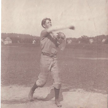 Unknown Baseball Player  - Photographs