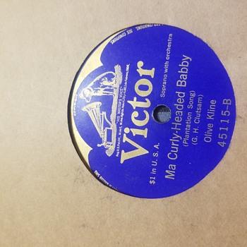 Olive Kline (1912-1916) - Records