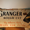 Nice old Tobacco Tin Sign GrangerRough Cut