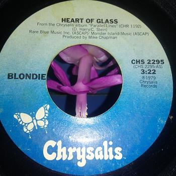 Blondie...On 45 RPM Vinyl - Records