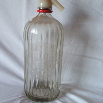 Soda Siphon - background unknown?? - Bottles