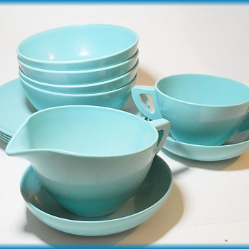 Blue MELMAC Dinnerware set - Kitchen