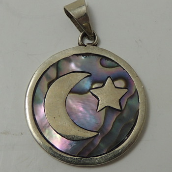 Abalone & ? Pendent