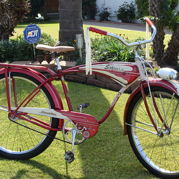Kevin's 1954 Unrestored Schwinn Streamliner Survivor! - Sporting Goods