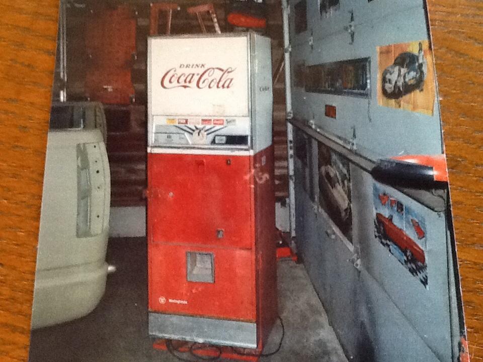Westinghouse Dial O Matic Coke Machine