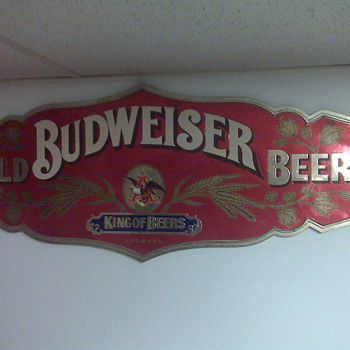 Found in an old barn years ago! - Breweriana