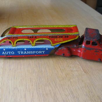 WYANDOTTE TOYS AUTO TRANSPORT TRUCK 1950'S  - Toys