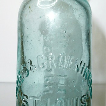 Fries & Groeninger / St. Louis Bottlers - Bottles