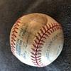 1968 World Series Tigers Baseball Autographed