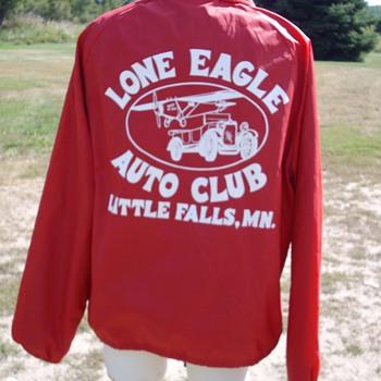 Vintage auto club jacket. 1950's? - Mens Clothing