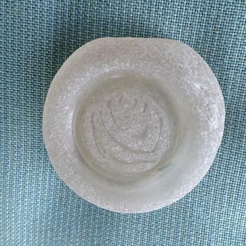 Beach glass w/ imprint - Bottles