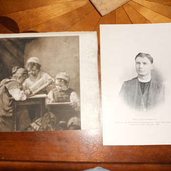 Picture and frame Rev James M. Korczyk - Photographs