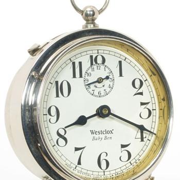 Baby Ben Dated 5-29 (May, 1929) - Clocks