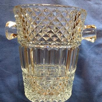 My Favorite Glass Ice Bucket!