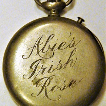 "Memorabilia From ""Abie's Irish Rose"" Play By Anne Nichols"