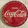 1940's Coca-Cola Round Thermometer