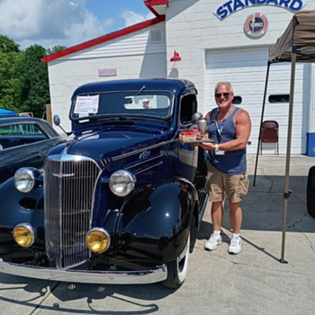 1937 Chevrolet pickup truck takes 1st place  - Classic Cars