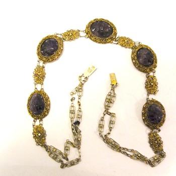 Necklace China Amethyst   - Fine Jewelry