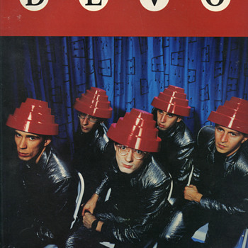 Devo - Freedom of Choice music book - Music Memorabilia