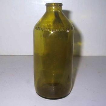 Light green Bottle - Bottles