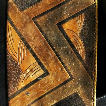 Art Deco Leather Portfolio - Art Deco