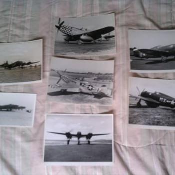 Original WW2 U.S. Fighter Planes Photos Help I.D. - Military and Wartime