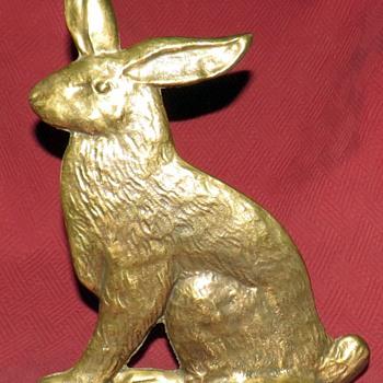 Spenser Double Sided Rabbit Doorstop - Animals