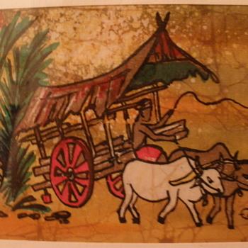 Madras Batik - Fine Art