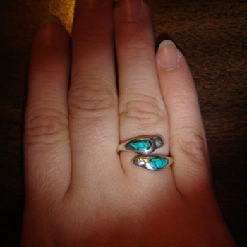 Turquoise dove ring - Fine Jewelry