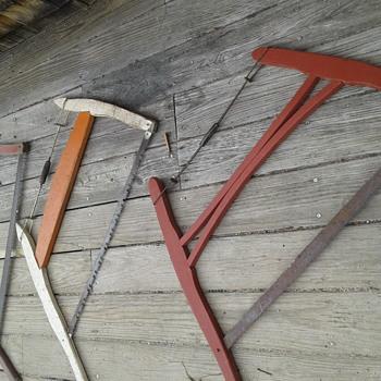 Grandfather's Bucksaws  - Tools and Hardware