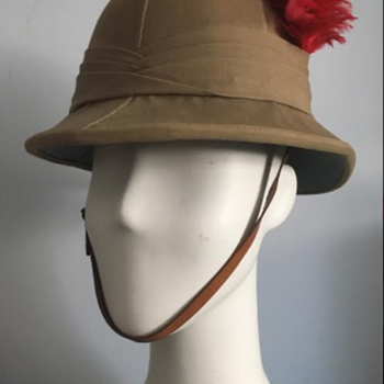 Inter-War Black Watch Wolseley Sun Helmet  - Military and Wartime