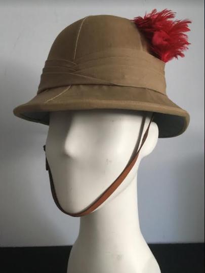 50f044c221051 Inter-War Black Watch Wolseley Sun Helmet | Collectors Weekly