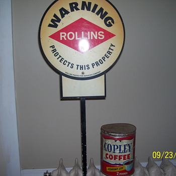 copley coffee /rollins - Signs