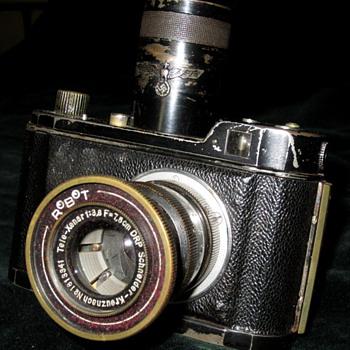 RoBoT Tele-Xenar Schneider-Kreuznach. 1941 Luft waffen camera. Very rare! - Cameras