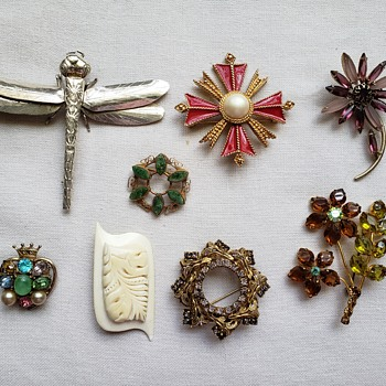 Some of My Favorite Brooches - Fine Jewelry
