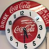 Coca Cola clock custom made replica.