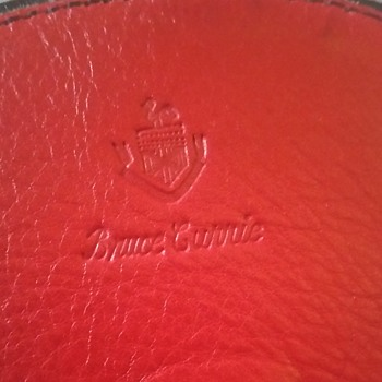 Bruce Currie leather purse - Bags