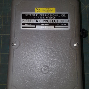 ELECTRIC PROTECTION, by POTTER - Electronics