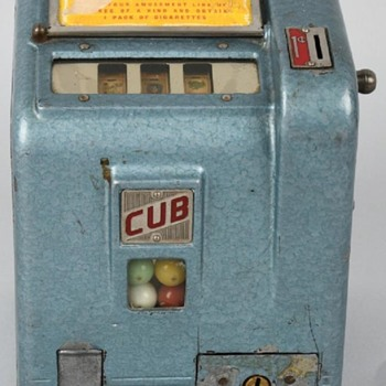 1940s Daval Cub Trade Stimulator  - Coin Operated