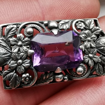 Silver Art And Craft Brooch - Arts and Crafts