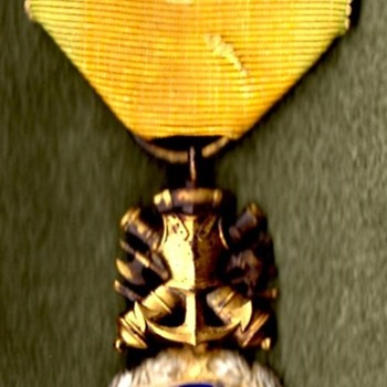 WWI French Médaille Militaire  and Verdun Medal