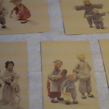 Japanses vintage postcards
