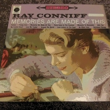 Mr. Ray Conniff...On 33 1/3 RPM Vinyl - Records