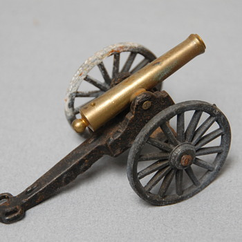 MFCO Michael Falk Co. Cast Iron Brass Canon - Military and Wartime