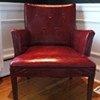 Red Navajo Club Chair - Herman Chairs, Inc.